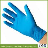 Устранимые перчатки нитрила рассмотрения