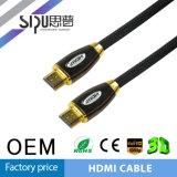 Поддержка кабеля 3D Sipu 1.4V покрынная золотом HDMI для PS4