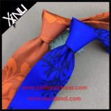 Relation étroite faite sur commande d'impression de soie fabriquée à la main de 100% pour les hommes