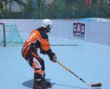 Plancher de cour d'hockey de résistance d'abrasion pour le professionnel et l'amateur