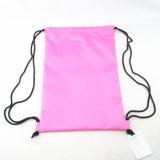 カラー変更のバナナプリント水泳のドローストリング袋