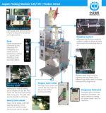 Machine à emballer remplissante liquide automatique d'huile de cuisine à échelle réduite