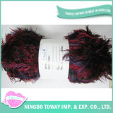 Fios Marcas texturizados Chunky Knit distorcido Fios Fun Fur