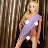 Het volledige Gel van het Stuk speelgoed van het Geslacht van het Kiezelzuur van Doll TPE van de Vagina van het Silicone Zachte Grappige met Doll Mannelijke Masturabator van de Entiteit van het Skelet