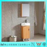Kleiner Fußboden - eingehangene mehrschichtige Badezimmer-Holz-Eitelkeit