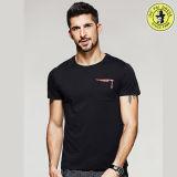 Coton 100% des T-shirts personnalisé par vente en gros T pour les hommes