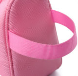 O cosmético dobro do Zipper da promoção ensaca sacos do arti'culo de tocador