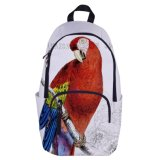 A trouxa personalizada da qualidade da trouxa do elogio marca sacos de livro coloridos