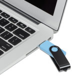 Movimentação feita sob encomenda do flash do USB do giro do logotipo do melhor presente da promoção do preço