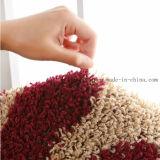 공상 빨간 꽃 디자인 PP 물자 TPR 기본적인 지면 양탄자