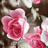 цветок Pigment&Disperse росы 100%Polyester напечатал ткань для комплекта постельных принадлежностей