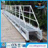 船のための鋼鉄調節梯子