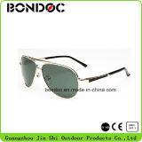 En métal de qualité lunettes de soleil fraîches à l'extérieur pour les hommes