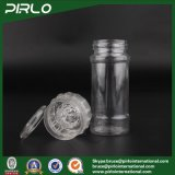 120ml 4oz Eco-Friendly Pratos de tempero com pote de tempero Frascos de tempero com Grinder Plastic Pepper Bottle