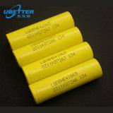 Клетка батареи 18650 3.7V с большой емкостью