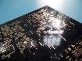 PWB 42.02um grueso del negro del circuito del PWB de 2 capas de cobre densamente con oro de la inmersión