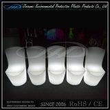 바 대중음식점을%s 놓이는 LED 점화 플라스틱 옥외 가구