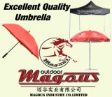 Guarda-chuva de aço de anúncio ao ar livre Sun