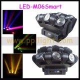 6heads X 12W LED bewegliches Hauptträger-Stab-Licht