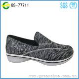 Выскальзование обуви повелительниц самой последней конструкции популярное на женщинах вскользь ботинок