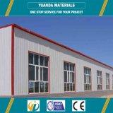 Struttura d'acciaio di vendita calda dei materiali nuovi per le costruzioni prefabbricate