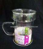 Taza de té del vidrio de Borosilicate con Infuser