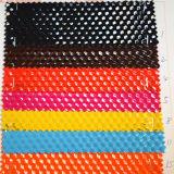 Couro popular do PVC do projeto para os sacos (HTS025)