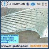 Reja de acero serrada galvanizada para la plataforma de la estructura
