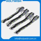 Wristband с Wristbands жаккарда Wording в по-разному цветах