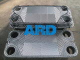 Más fuerte recomendar a cambiador de calor de la placa del acero inoxidable 304 para el enfriamiento del ácido graso