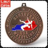 Медаль Jiu-Jitsu пожалования верхней цены по прейскуранту завода-изготовителя надувательства изготовленный на заказ