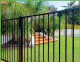 Im Freien dekorativer geschweißter bearbeitetes Eisen-Garten-Zaun