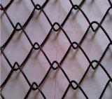 직류 전기를 통한 체인 연결 담, 다이아몬드 철사 그물세공