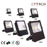 Indicatore luminoso di inondazione esterno di qualità eccellente LED di Ctorch IP66 50W con l'UL. Ce
