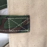 Natürliche Baumwoll-Einkaufstasche mit Slik-Siebdruck