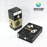 Teilweises Drucken-überzogenes Gewebe-Pappdrucken-verpackengeschenk-Kasten