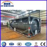 Conteneur de réservoir de liquide liquide chimique de 20 pieds dans un conteneur de réservoir ISO 31t