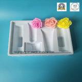 Weißes Belüftung-kosmetisches Blasen-Verpackungs-Tellersegment