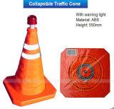 cone reflexivo da estrada do PVC de 700mm