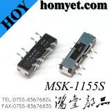 Тип переключатель SMT скольжения положения 2t3p вертикали 3 (HY-1155S)