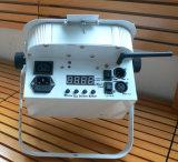PARITÉ plate sans fil de la batterie DEL de DMX 12X5w 4in1