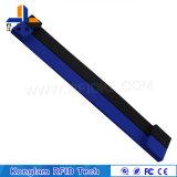 Wristband ultra de alta frecuencia del silicón del disco RFID de U para la exposición