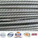alambre de alta resistencia de la PC 1670MPa de 4.8m m