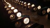 Dos luz blanca de la anteojera de la MAZORCA DMX LED de los ojos 2X100W
