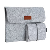 Notizbuch-Geschenk-Kasten-Wolle-Filz-Laptop-Aktenkoffer