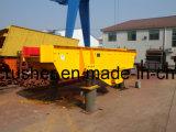De grijze Trillende Machine van de Voeder voor de Installatie van de Maalmachine van de Kaak