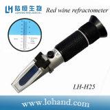 Vino Tinto refractómetro con el precio bajo (LH-H25)