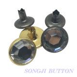Protezione del ribattino del diamante degli accessori 11mm dell'indumento del metallo di modo