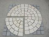 Камни подъездной дороги Paver сетки вентилятора естественные для Cubestone