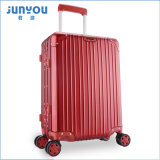 A fábrica faz 20 24 avança muitos cor o frame de alumínio bagagem portátil da mala de viagem para Junyou
